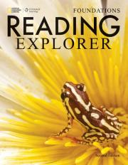 Reading Explorer Second Edition